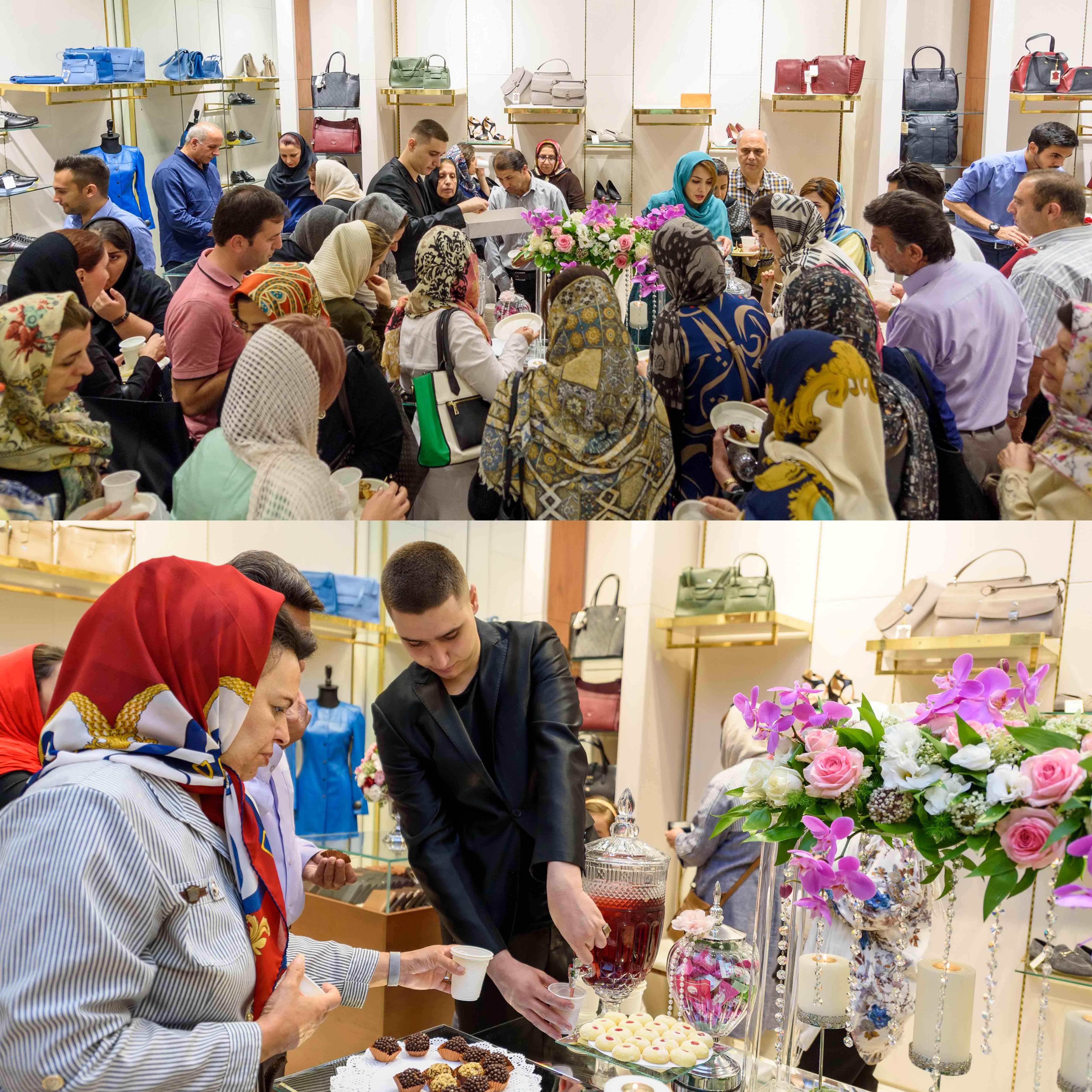 افتتاح شعبه ارگ تهران