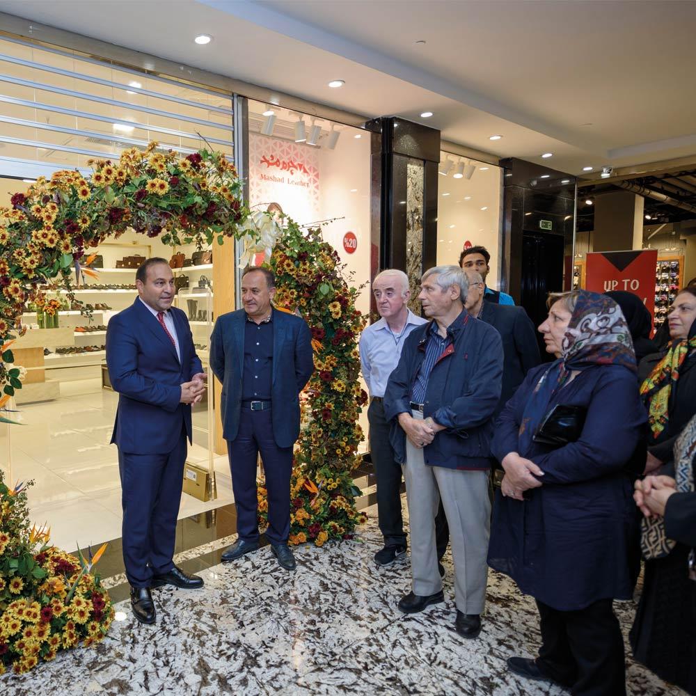 افتتاحیه شعبه اُپال تهران